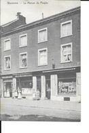 Waremme - La Maison Du Peuple - La Justice Société Coopérative - P. Fremal Charlier - Circulé: 1909 - 2 Scans. - Borgworm