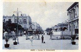 BARI - CORSO VITTORIO EMANUELE - VIAGGIATA - Bari