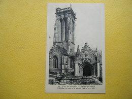 PLONEVEZ DU FAOU. Saint Herbot. L'Eglise. - Plonevez-du-Faou