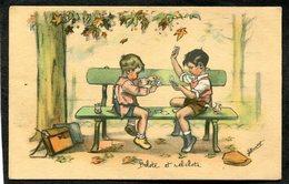 CPA - Illustration Germaine BOURET - Belote Et Rebelote - Bouret, Germaine