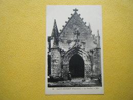 PLONEVEZ DU FAOU. Saint Herbot. Le Portail De L'Ossuaire. - Plonevez-du-Faou