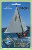 New Zealand - 1993 Scout Regatta - $5 Yacht - NZ-E-8 - VFU - New Zealand