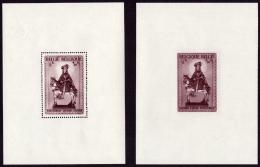 Belgium BL 015/16* Secours D'hiver Saint Martin  H - Blocks & Sheetlets 1924-1960