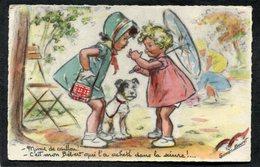 CPA - Illustration Germaine BOURET - Mince De Caillou ! - C'est Mon Bébert Qui L'a Acheté Dans La Sciure ! - Bouret, Germaine