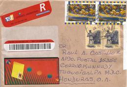 Argentina 2000 San Salvador De Jujuy Football Boca Juniors Registered Cover - Club Mitici