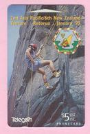 New Zealand - 1994 Scout Venture - $5 Rock Climbing - NZ-E-19 - VFU - New Zealand