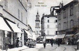 PARMA - STRADA CAVOUR - VIAGGIATA - Parma