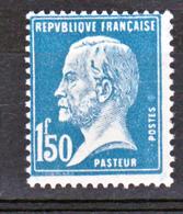 France 181 Pasteur  Neuf   ** TB  MNH  Sin Charnela Cote 25 - France
