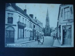 """AVEGHEM : Kerkstraat En """"au Bon Marché"""" In 1906 - Avelgem"""