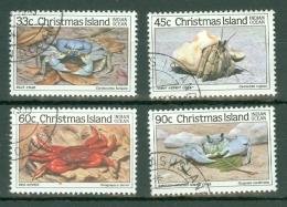 Christmas Is: 1985   Crabs (Series 2)   Used - Christmas Island