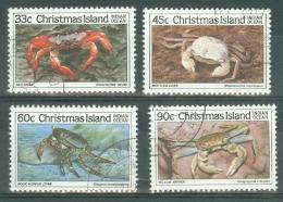 Christmas Is: 1985   Crabs (Series 3)   Used - Christmas Island