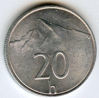 Slovaquie Slovakia 20 Halierov 1993 KM 18 - Slovaquie
