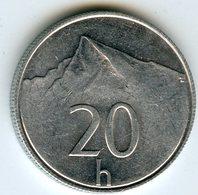 Slovaquie Slovakia 20 Halierov 1994 KM 18 - Slovaquie
