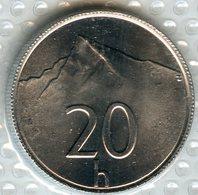 Slovaquie Slovakia 20 Halierov 2001 UNC KM 18 - Slovaquie