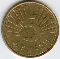 Macédoine Macedonia 5 Denari 1993 KM 4 - Macédoine