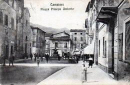 CAMAIORE - PIAZZA PRINCIPE UMBERTO - LUCCA - VIAGGIATA - Lucca