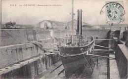 LE HAVRE - Remorqueur En Cale Sèche - Port