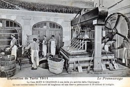 TORINO - ESPOSIZIONE 1911 - MOET & CHANDON - VIAGGIATA - Ausstellungen
