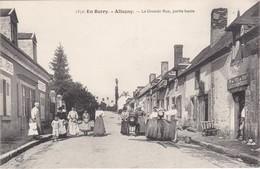 ALLOGNY - La Grande Rue, Partie Haute - Vins En Gros Lefevre-Denis - Tonneau - Belle Animation - TBE - Frankrijk