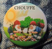 Pin Button Badge Ø38mm La Chouffe Soleil ( 5 ) - Beer