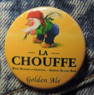 Pin Button Badge Ø38mm La Chouffe Golden Ale ( 6 ) - Beer
