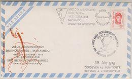 Argentina 1979 Vuelo Commemorativo Buenos Aires - Base Marambio 29 Oct 1979 Cover (38672) - Poolvluchten