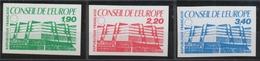 1986 France SERVICES Du N°93 à 95 Non Dentelés Neufs Luxe** COTE 77€ D2114 - No Dentado