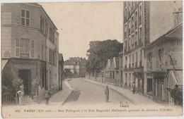 CPA 75 PARIS XX Rue Pelleport à La Rue De Bagnolet Commerces - District 20