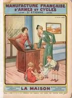 """Opuscule 1936 Manufrance """"La Maison"""" - Décoration Intérieure"""