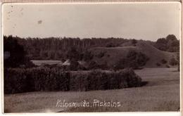 LATVIA. LETTLAND. KALNAMUIZA PILSKALNS Photo Postcards - Letonia