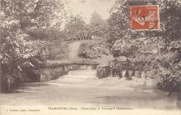 TALMONTIER - CHUTE D'EAU ET VANNAGE A GUEULANCOURT . AFFR SURRECTO LE 15-5-1917 - Other Municipalities