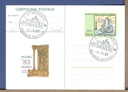 ITALIA - Cartolina CP - 1983 - MESSINA - PELORO - - 6. 1946-.. Repubblica