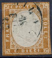 Stamp Italy Sardinia 1851-63? 10c Used Lot26 - Sardinia