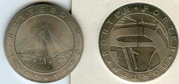 Médaille Jeton Pays-Bas Netherland Rotterdam 1340 1990 - Porter - Monétaires/De Nécessité