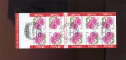 Belgie Boekje Carnet 2004 B45 3318ANDRE BUZIN Flowers Impatiens Gestempeld Used Oblitéré - Carnets 1953-....