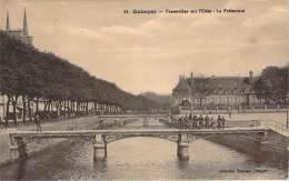 29 - Quimper - Passerelles Sur L'Odet, La Préfecture - Quimper