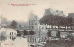 29 - QUIMPER - Rivière De L'Odet, Le STEïR,  Les Postes Et Télégraphes - Quimper