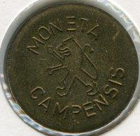 Médaille Jeton Pays-Bas Netherland Moneta Campensis Kampen - Monétaires/De Nécessité