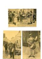 Carte Postale Petit Métiers  Tambours De Ville  Repro 3 Cartes - Métiers