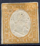 Stamp Italy Sardinia 1855-63 10c Mint Lot36 - Sardinia