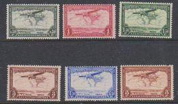 Belgisch Congo  1934 Luchtpost 6w (0.50 - 5 Fr)  ** Mnh (38675A) - Congo Belge