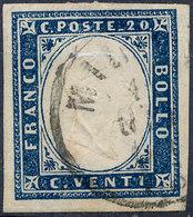 Stamp Italy Sardinia 1855-63 20c Used Lot41 - Sardinia