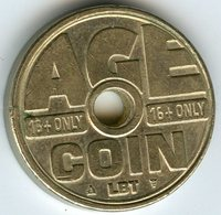 Médaille Jeton Pays-Bas Netherland Age Coin LBT - Monétaires/De Nécessité