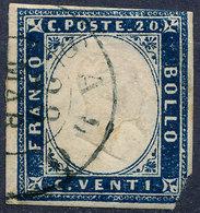 Stamp Italy Sardinia 1855-63 20c Used Lot45 - Sardinia