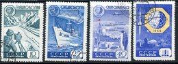 USSR 1959 2267-2270 (2352-2355) INTERNATIONAL GEOPHYSICAL COOPERATION - International Geophysical Year