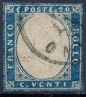 Stamp Italy Sardinia 1855-63 20c Used Lot49 - Sardinia