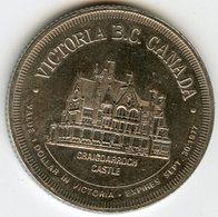 Médaille Jeton Canada 1 Dollar 1977 Victoria - Monétaires / De Nécessité