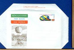 ITALIA - Aerogramma - ESPERIMENTO VOLO IN PALLONE - 6. 1946-.. Repubblica