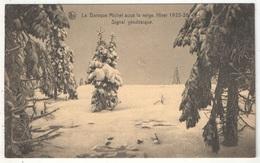 La Baraque Michel Sous La Neige - Hiver 1925-26 - Signal Géodésique - Jalhay