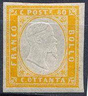 Stamp Italy Sardinia 1855-63 80c Mint Lot64 - Sardinia